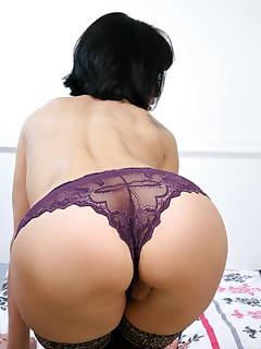 Ass nylon galeries